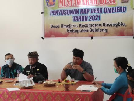 Musdes penyusunan RKP Desa Th 2021